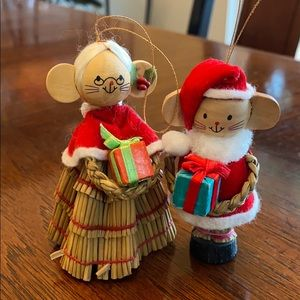 Other - Antique mouse ornaments